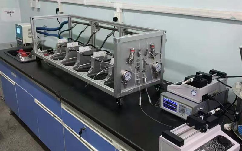 continuous flow microchannel reactor